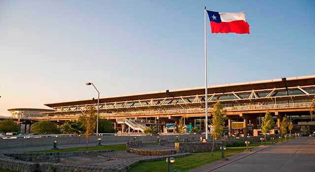 Santiago Airport (IATA: SCL) is the busiest airport in Chile.